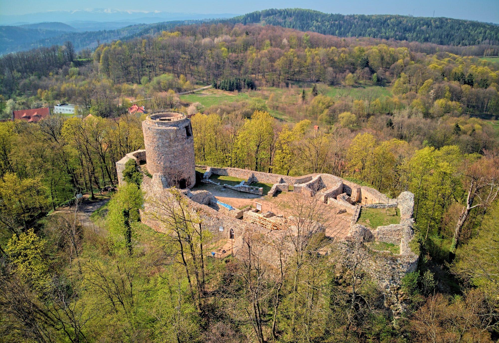 Zamek Wleń (Lenno)